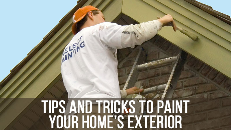 Tips and Tricks to Paint Your Home's Exterior