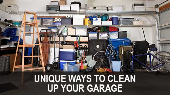 Unique Ways to Clean Up Your Garage