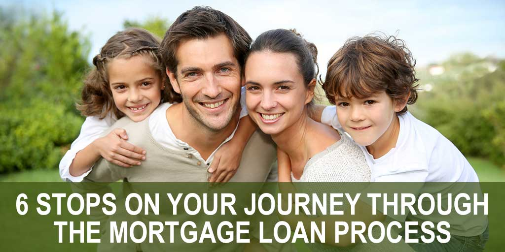 6 Stops On Your Journey Through the Mortgage Loan Process
