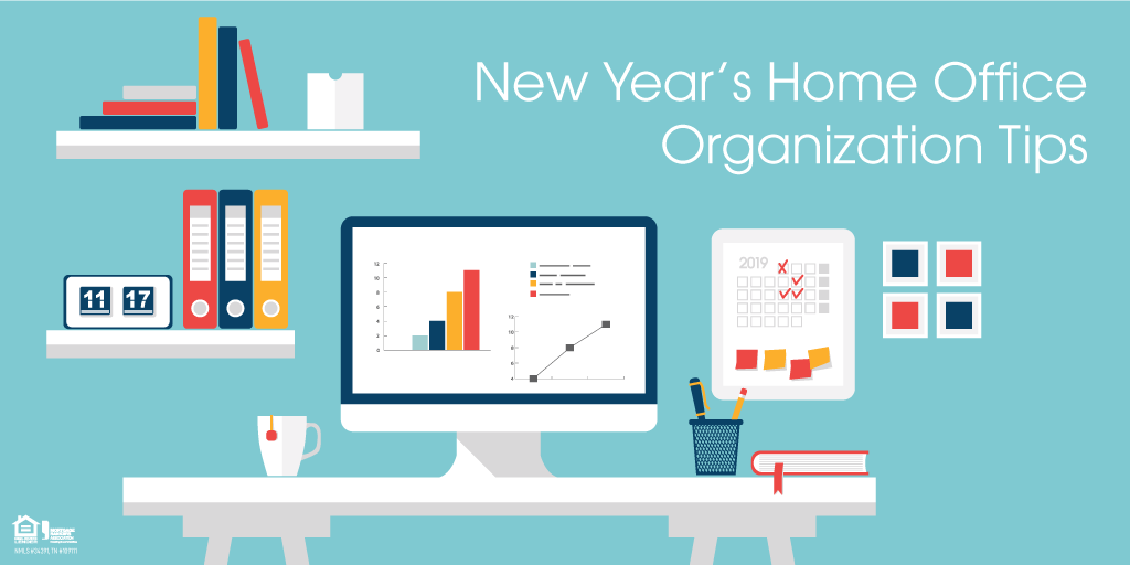 New Year's Home Office Organization Tips