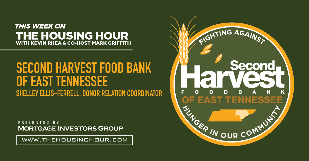 This Week on The Housing Hour: Second Harvest Food Bank