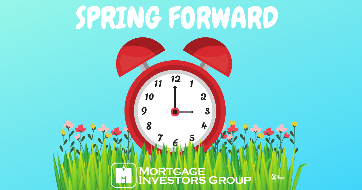 Don't forget to turn your clocks forward this weekend