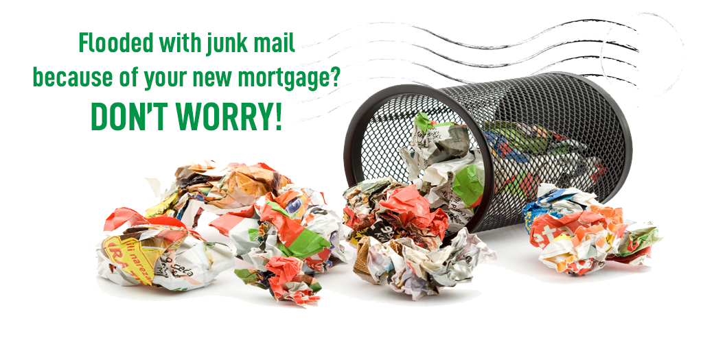 Flooded with Junk Mail Because of Your New Mortgage? Don't Worry