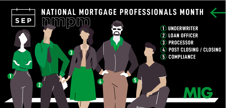 National Mortgage Professional Month Department Series 2019