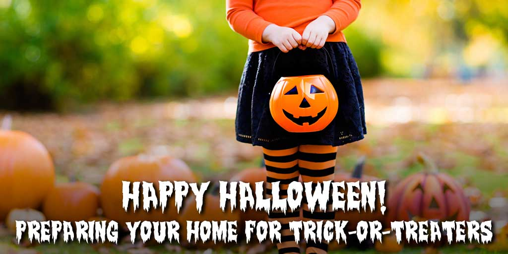 Happy Halloween! Preparing Your Home for Trick-or-Treaters
