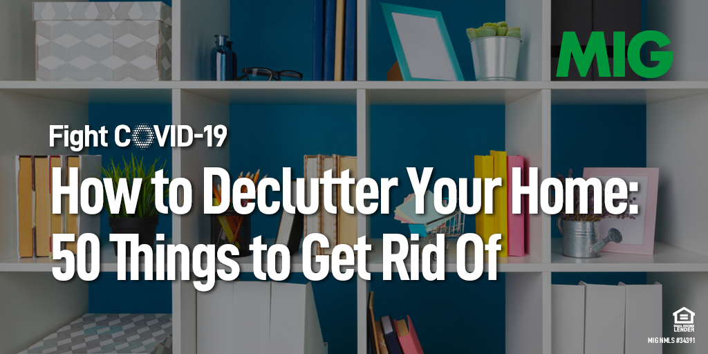 How to Declutter Your Home: 50 Things to Get Rid Of (Printable Checklist)