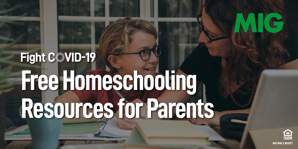 Free Homeschooling Resources for Parents During COVID-19