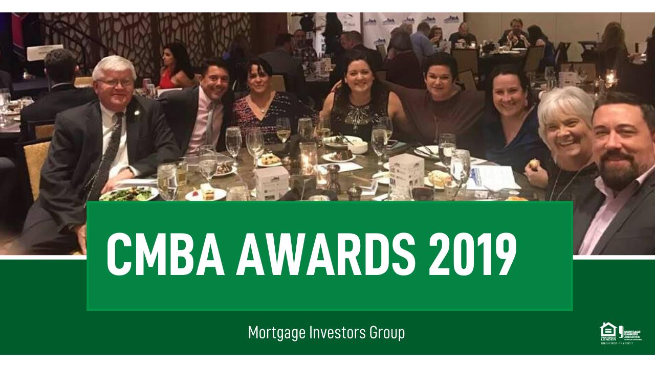 2019 CMBA Awards