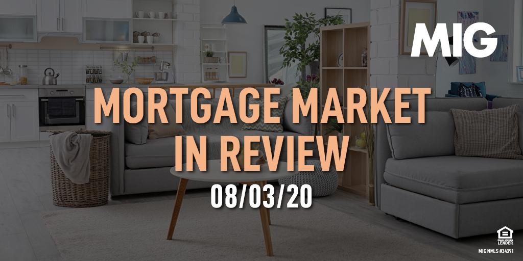 MIG Market Watch, August 3rd, 2020