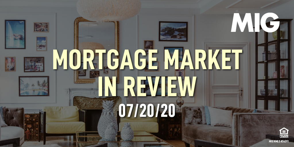MIG Market Watch, July 20th, 2020