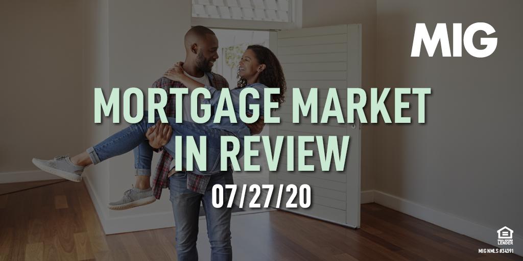 MIG Market Watch, July 27th, 2020