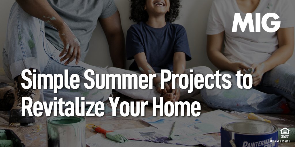 Simple Summer Projects to Revitalize Your Home