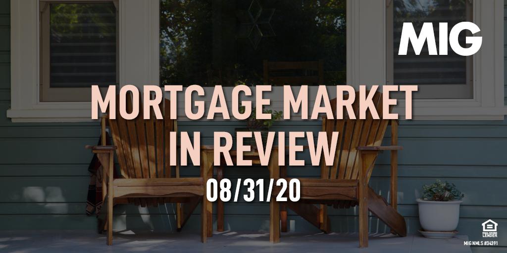 MIG Market Watch, August 31st, 2020