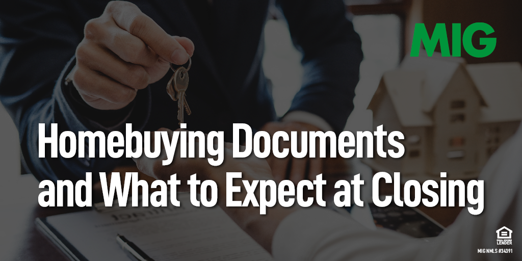 Homebuying Documents and What to Expect at Closing