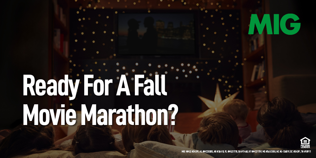 Ready For A Fall Movie Marathon?