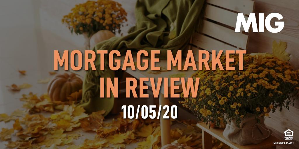 MIG Market Watch, October 5th, 2020