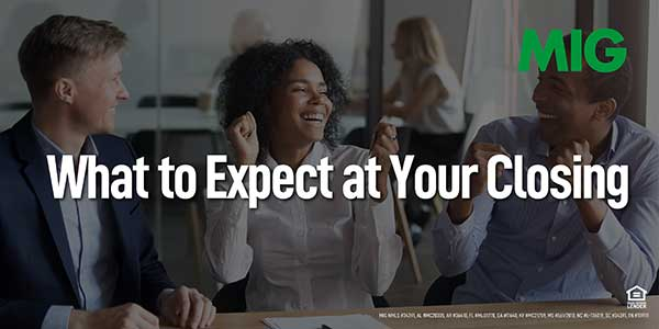 What to Expect at Your Closing