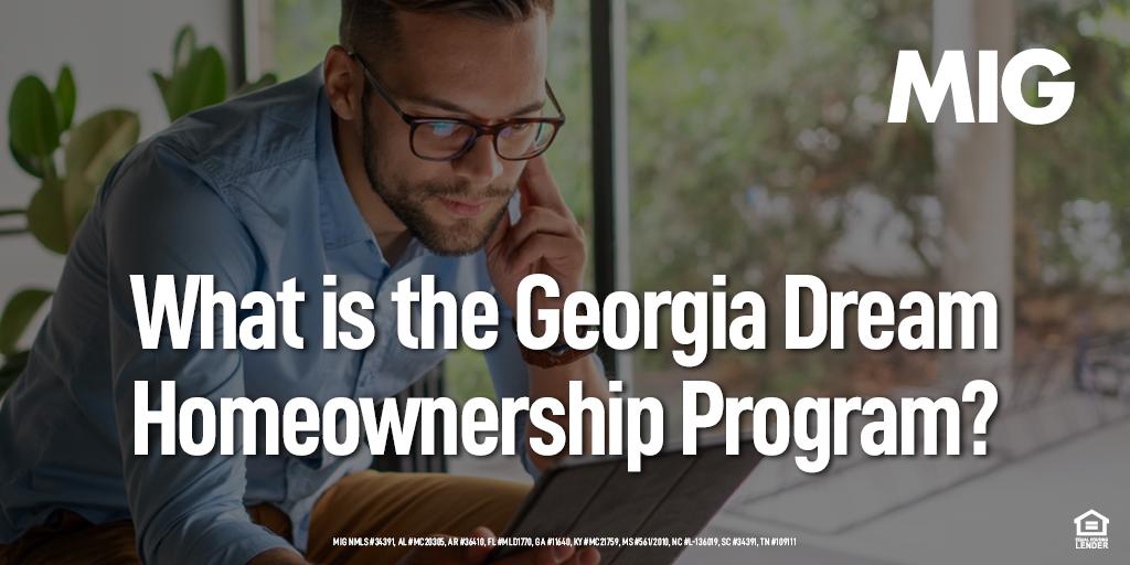 What is the Georgia Dream Homeownership Program?