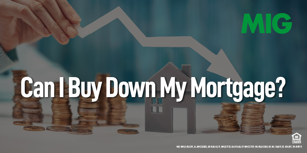 Can I Buy Down My Mortgage?