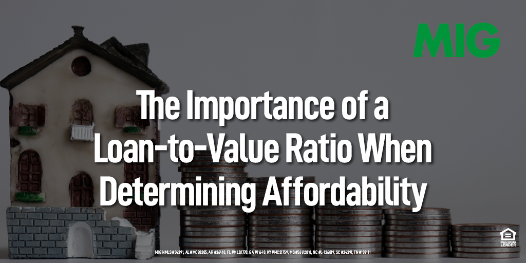 The Importance of a Loan-to-Value Ratio When Determining Affordability