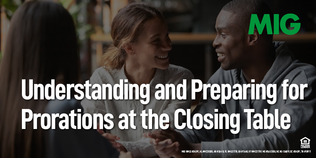 Understanding and Preparing for Prorations at the Closing Table