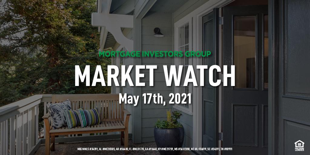 MIG Market Watch, May 17th 2021
