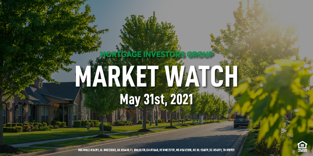 MIG Market Watch, May 31st 2021