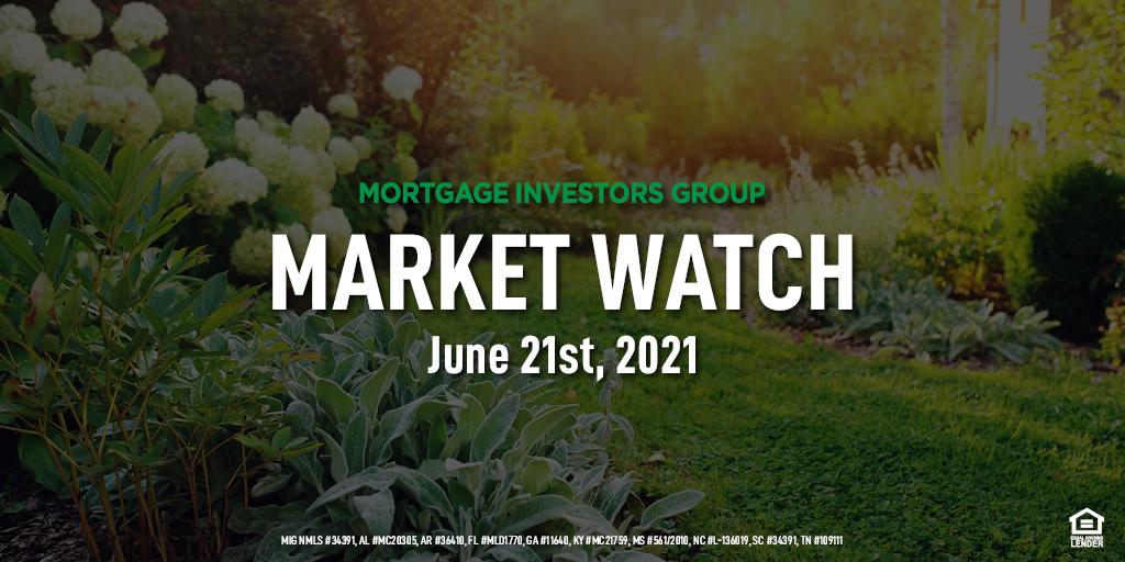 MIG Market Watch, June 21st 2021