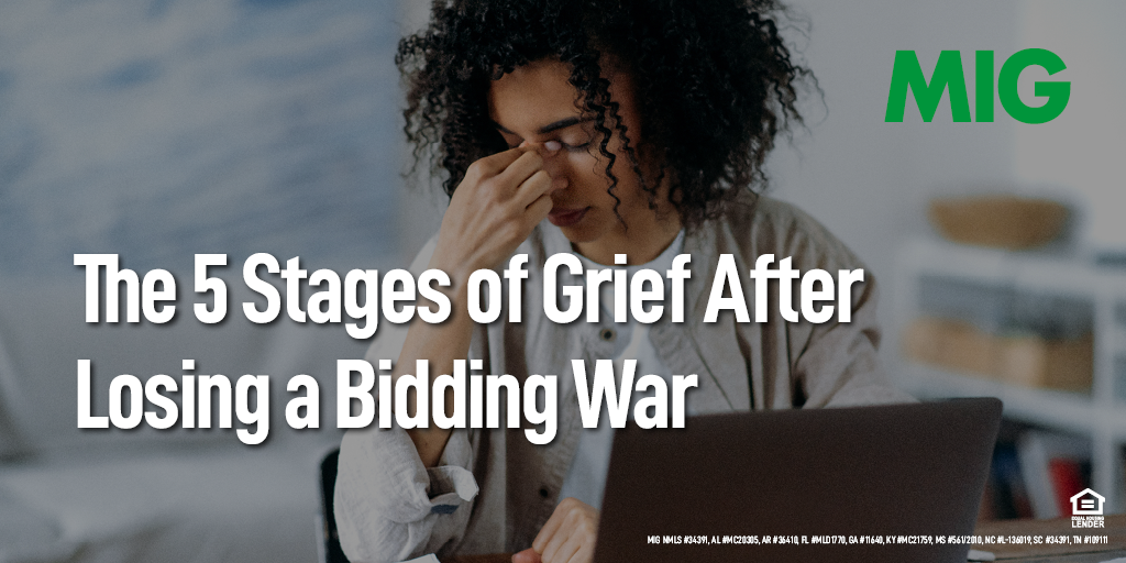 The 5 Stages of Grief After Losing a Bidding War