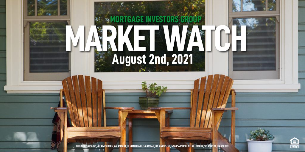 MIG Market Watch, August 2nd, 2021