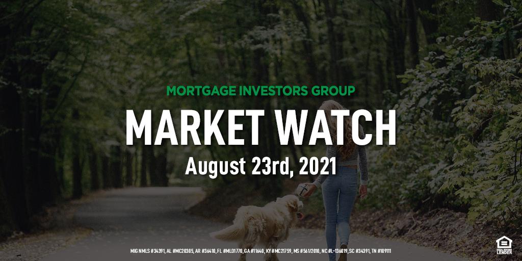 MIG Market Watch, August 23, 2021