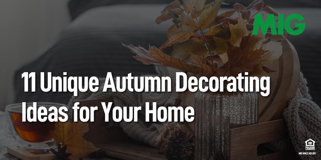 11 Unique Autumn Decorating Ideas for Your Home