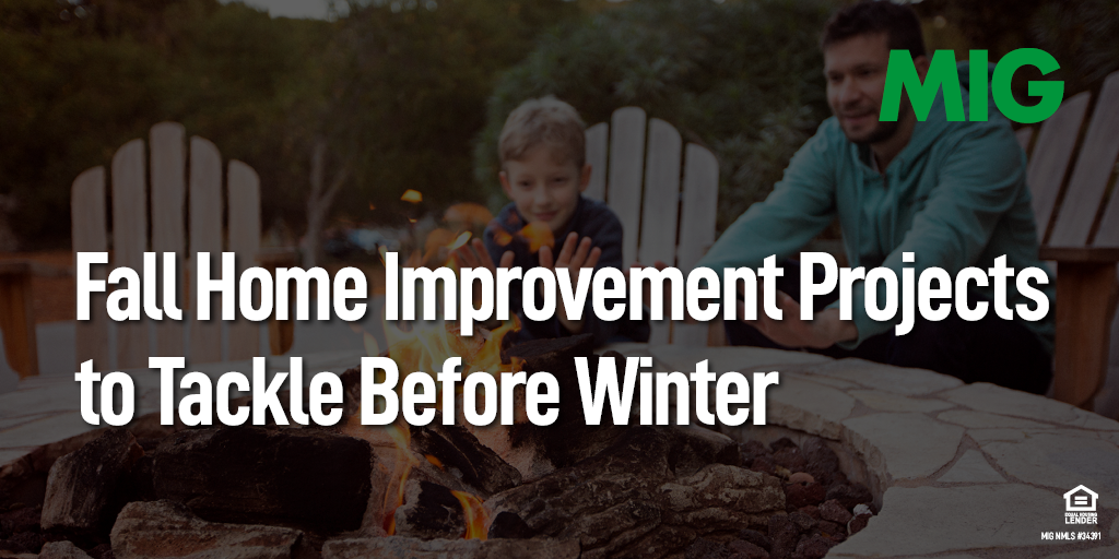 Fall Home Improvement Projects to Tackle Before Winter