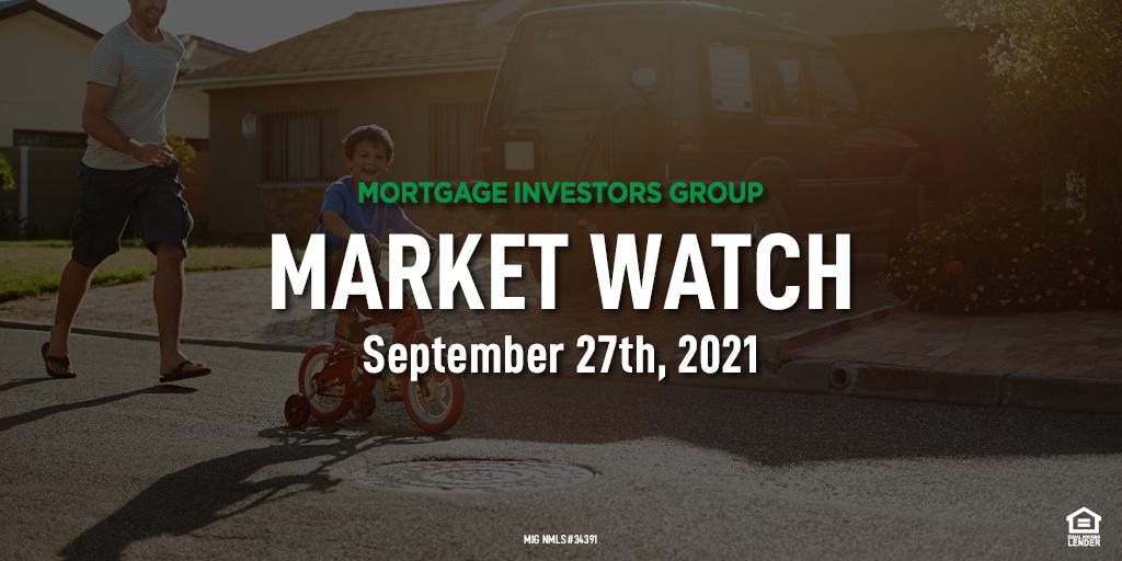 MIG Market Watch, September 27th, 2021