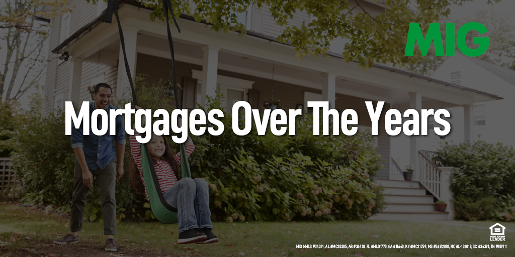 The American Dream: Looking at the History of Home Mortgages